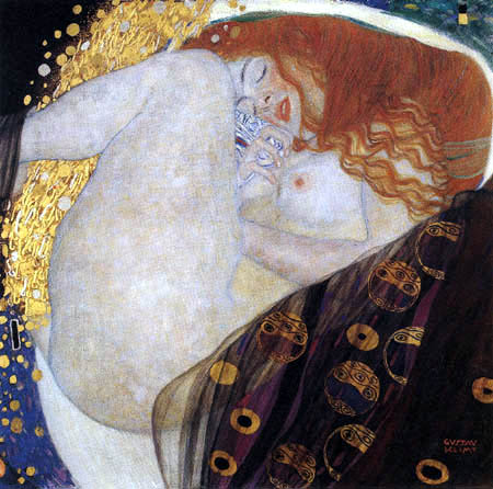 Gustav Klimt - Danaë