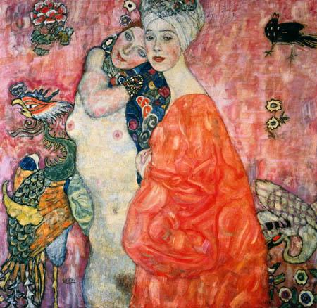Gustav Klimt - Two Friends