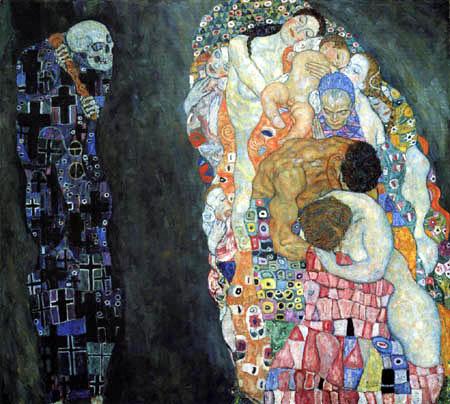 Gustav Klimt - Tod und Leben