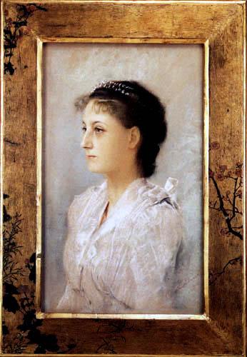 Gustav Klimt - Bildnis Emilie Flöge
