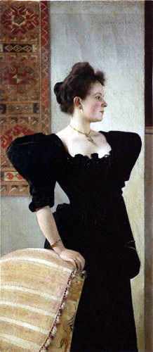Gustav Klimt - Portrait of a Lady