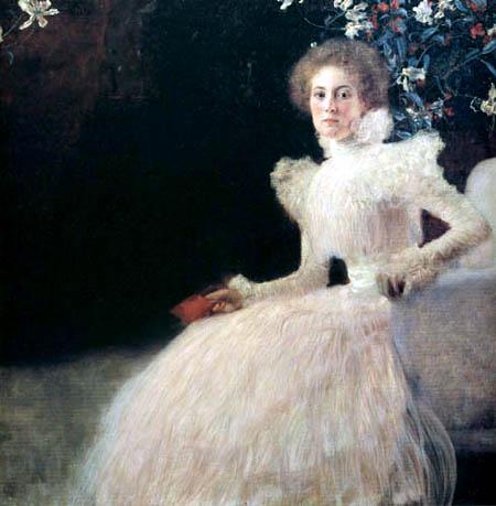 Gustav Klimt - Portrait of Sonja Knips