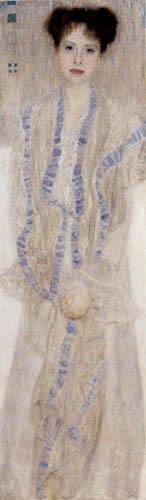 Gustav Klimt - Portrait of Gertrud Loew