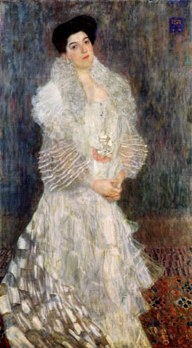 Gustav Klimt - Portrait of Hermine Gallia