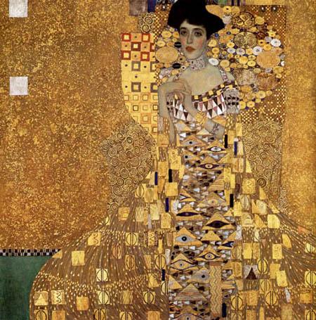 Gustav Klimt - Bildnis Adele Bloch-Bauer I.