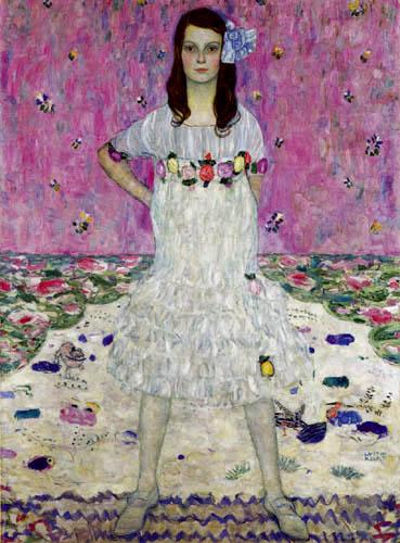 Gustav Klimt - Portrait of Mäda Primavesi