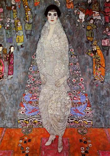 Gustav Klimt - Portrait of baroness Elisabeth Bachofen-Echt