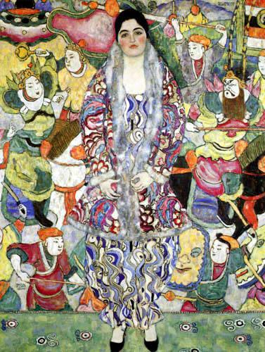 Gustav Klimt - Portrait of Frederike Maria Beer