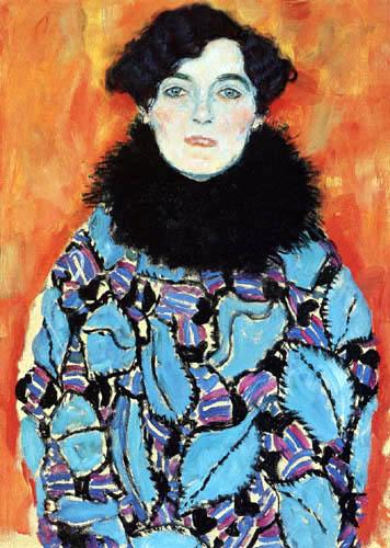 Gustav Klimt - Portrait of Johanna Staude