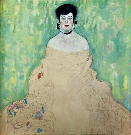 Gustav Klimt - Portrait of Amalie Zuckerkandl