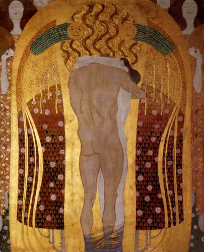 Gustav Klimt - This kiss of the whole world