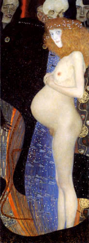 Gustav Klimt - Die Hoffnung I.