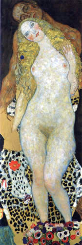 Gustav Klimt - Adam and Eve