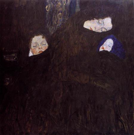 Gustav Klimt - Mutter mit Kindern