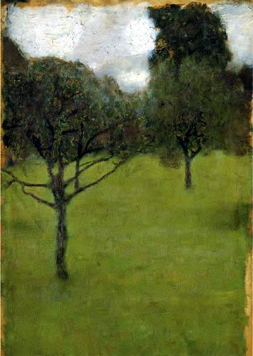 Gustav Klimt - Orchard