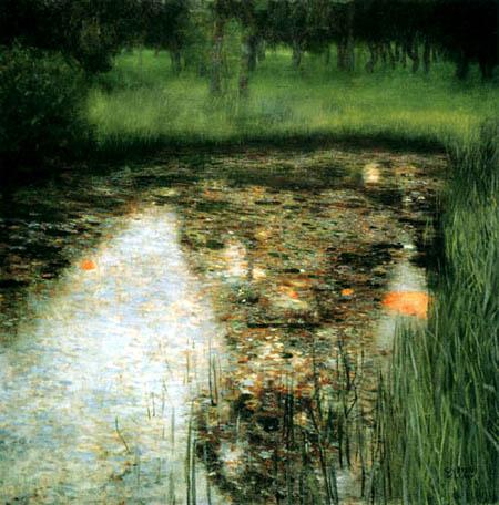 Gustav Klimt - Der Sumpf