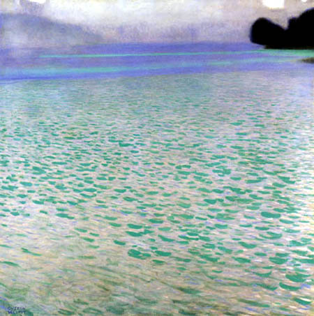 Gustav Klimt - On the Attersea