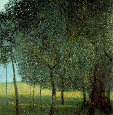 Gustav Klimt - Fruit Trees