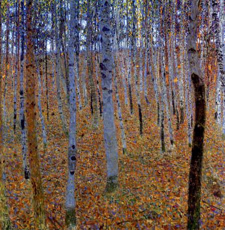 Gustav Klimt - Beech forest I