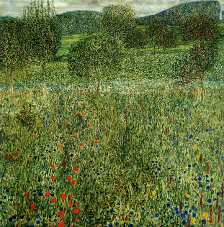 Gustav Klimt - Garden landscape