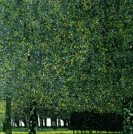 Gustav Klimt - Park