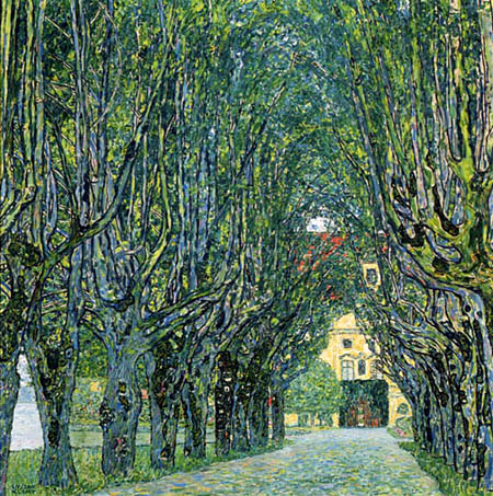 Gustav Klimt - Avenue in the park of the Castle Kammer