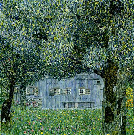 Gustav Klimt - Farm