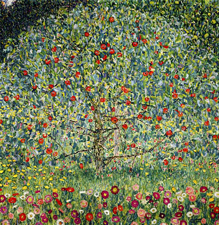 Gustav Klimt - Apple tree I