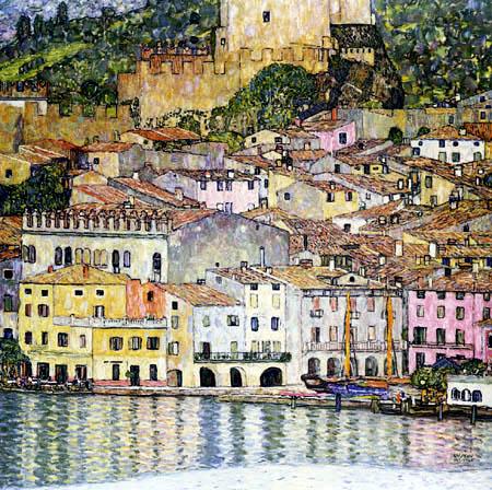 Gustav Klimt - Malcesine am Gardasee