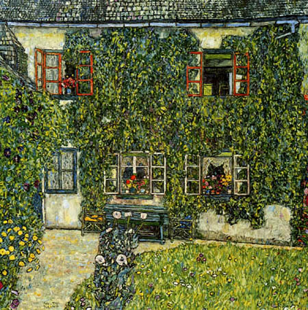 Gustav Klimt - Forester's house in Weissenbach, Attersee