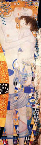 Gustav Klimt - The Three Ages, Detail