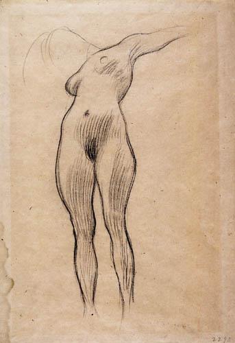 Gustav Klimt - Nude