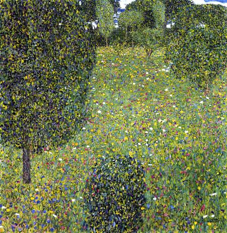 Gustav Klimt - Flowering landscape