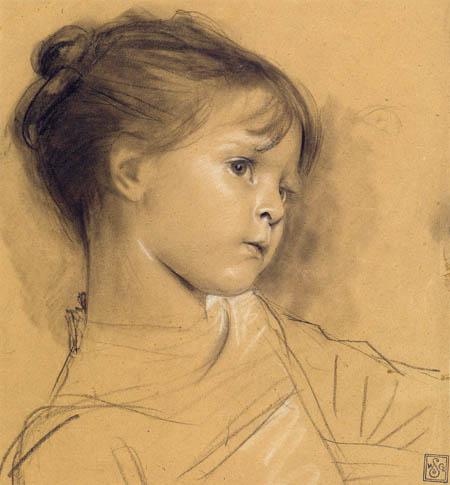 Gustav Klimt - Annerl