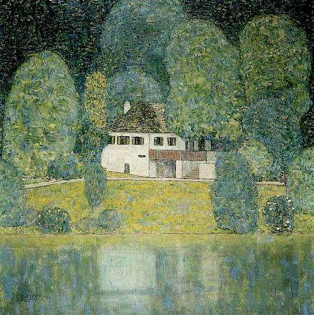 Gustav Klimt - Litzlbergkeller at Attersea