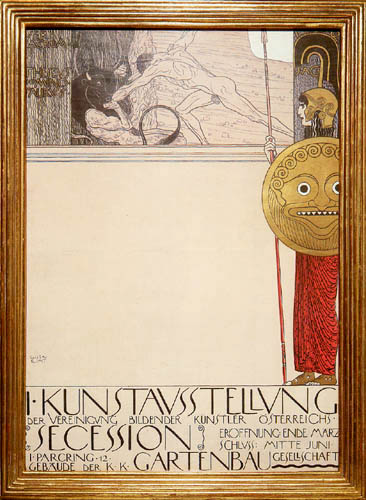Gustav Klimt - Poster for 'I. Secession'
