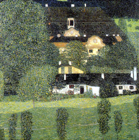 Gustav Klimt - Castle Kammer at Attersee II