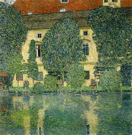 Gustav Klimt - Castle Kammer at Attersee III