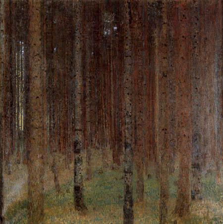 Gustav Klimt - Fir forest II