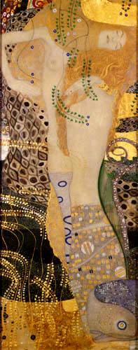Gustav Klimt - Water snakes I