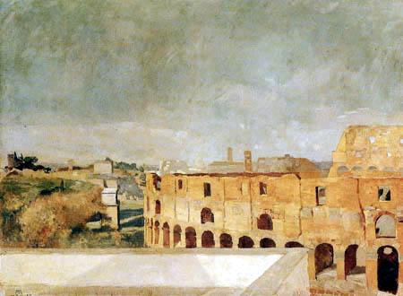 Max Klinger - Das Kolosseum in Rom