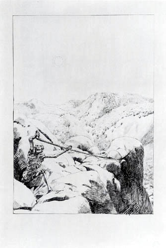 Max Klinger - The Death in the Mountains