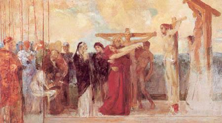 Max Klinger - Crucifixion of Christ, Sketch