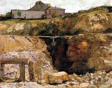 Max Klinger - House on the Quarry
