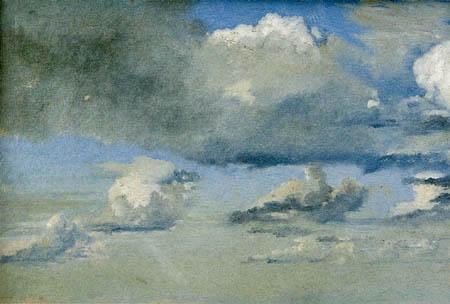 Christen Købke - Study of clouds