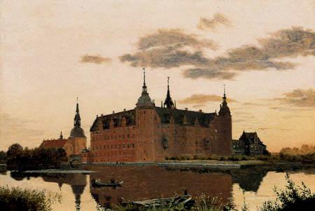 Christen Købke - The castle Frederiksborg