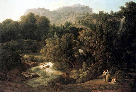 Joseph Anton Koch - Gebirgslandschaft