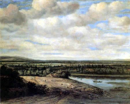 Philips Koninck (Goningh, Koning) - Holländische Landschaft