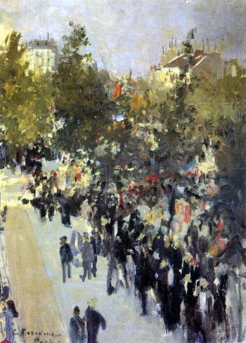 Konstantin Alexejewitsch Korowin - Boulevard des Capucines, Paris