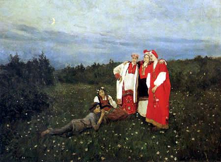 Konstantin Alexejewitsch Korowin - Nordische Idylle
